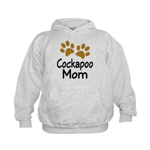Cute Cockapoo Mom Kids Hoodie