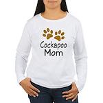Cute Cockapoo Mom Women's Long Sleeve T-Shirt