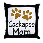 Cute Cockapoo Mom Throw Pillow
