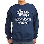 Cute Goldendoodle Mom Sweatshirt (dark)