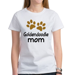 Cute Goldendoodle Mom Women's T-Shirt
