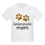 Cute Goldendoodle Mom Kids Light T-Shirt