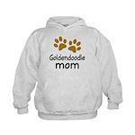 Cute Goldendoodle Mom Kids Hoodie