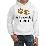 Cute Goldendoodle Mom Hooded Sweatshirt