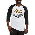 Cute Goldendoodle Mom Baseball Jersey