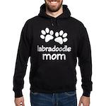Cute Labradoodle Mom Hoodie (dark)