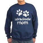 Cute Labradoodle Mom Sweatshirt (dark)