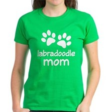 Cute Labradoodle Mom Tee