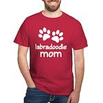 Cute Labradoodle Mom Dark T-Shirt