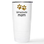 Cute Labradoodle Mom Ceramic Travel Mug