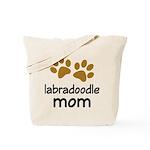 Cute Labradoodle Mom Tote Bag