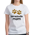 Cute Labradoodle Mom Women's T-Shirt