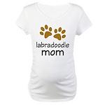 Cute Labradoodle Mom Maternity T-Shirt