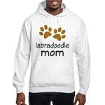 Cute Labradoodle Mom Hooded Sweatshirt
