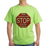 Stop Anti-Gay Bullying Green T-Shirt