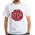 Stop Anti-Gay Bullying White T-Shirt