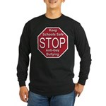 Stop Anti-Gay Bullying Long Sleeve Dark T-Shirt