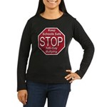 Stop Anti-Gay Bullying Women's Long Sleeve Dark T-