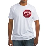Stop Anti-Gay Bullying Fitted T-Shirt