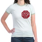 Stop Anti-Gay Bullying Jr. Ringer T-Shirt
