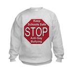 Stop Anti-Gay Bullying Kids Sweatshirt