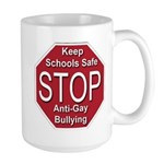 Stop Anti-Gay Bullying Large Mug