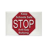 Stop Anti-Gay Bullying Rectangle Magnet (100 pack)