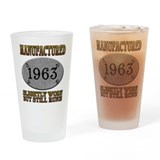 Manufactured 1963 Pint Glass
