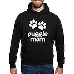 Cute Puggle Mom Hoodie (dark)
