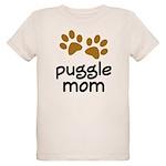 Cute Puggle Mom Organic Kids T-Shirt