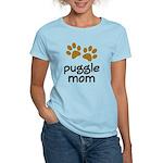 Cute Puggle Mom Women's Light T-Shirt