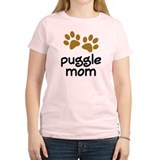 Cute Puggle Mom T-Shirt