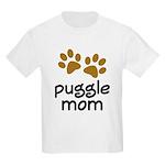 Cute Puggle Mom Kids Light T-Shirt