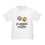 Cute Puggle Mom Toddler T-Shirt