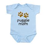 Cute Puggle Mom Infant Bodysuit