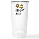 Cute Shar-poo Mom Ceramic Travel Mug