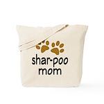 Cute Shar-poo Mom Tote Bag