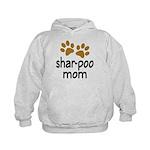 Cute Shar-poo Mom Kids Hoodie