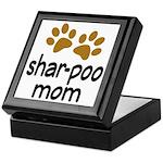 Cute Shar-poo Mom Keepsake Box