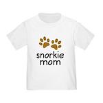 Cute Snorkie Mom Toddler T-Shirt
