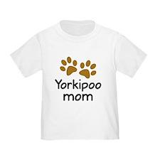 Cute Yorkipoo Mom T