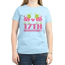 17th Anniversary Gift T-Shirt
