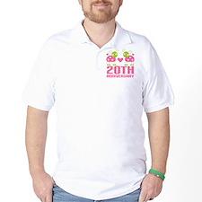 20th Anniversary Gift T-Shirt