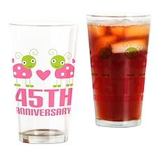 45th Anniversary Gift Pint Glass