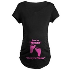 Due in girls custom T-Shirt
