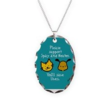 Save Lives Spay & Neuter Necklace
