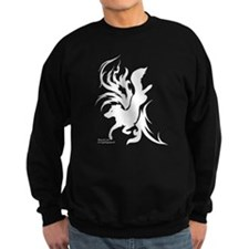 Tribal Art Border Collie Sweatshirt