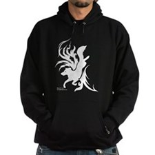 Tribal Art Border Collie Hoodie