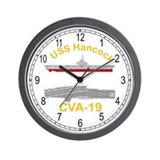 USS Hancock CVA-19 Wall Clock