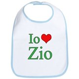 I Love Uncle (Italian) Bib
